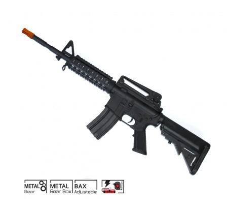 Rifle de Airsoft COLT M4 CQB R.I.S Elétrico  6MM CYBER GUN