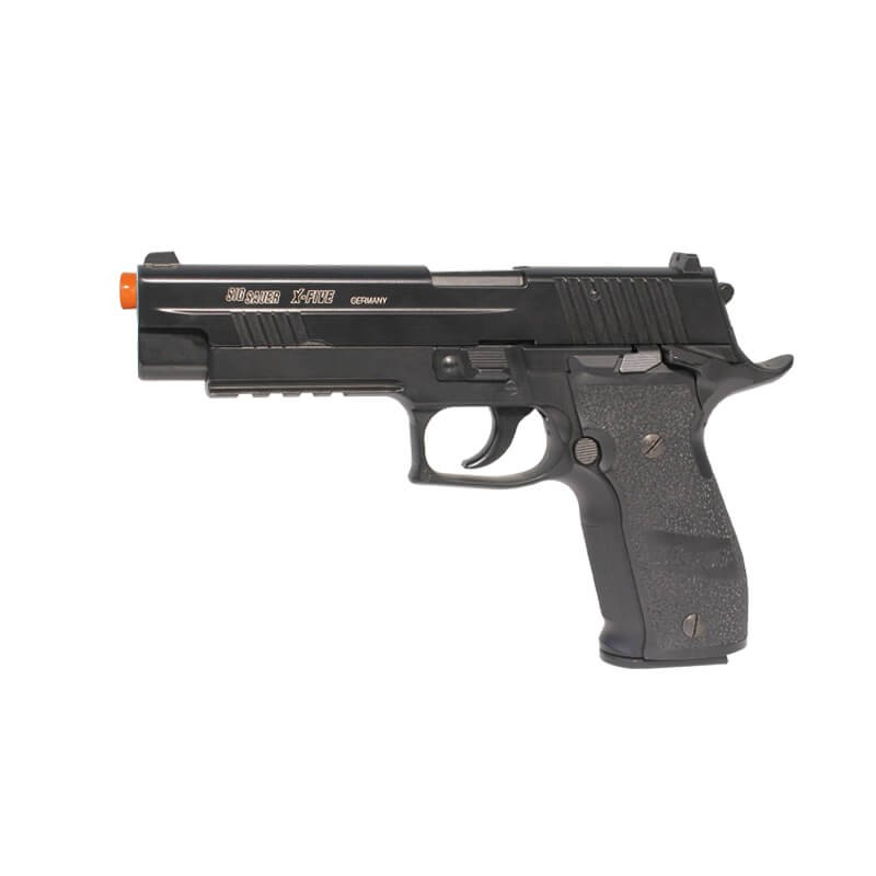 PISTOLA AIRSOFT CO2 CYBERGUN SIG SAUER X-FIVE BLOWBACK METAL 6MM