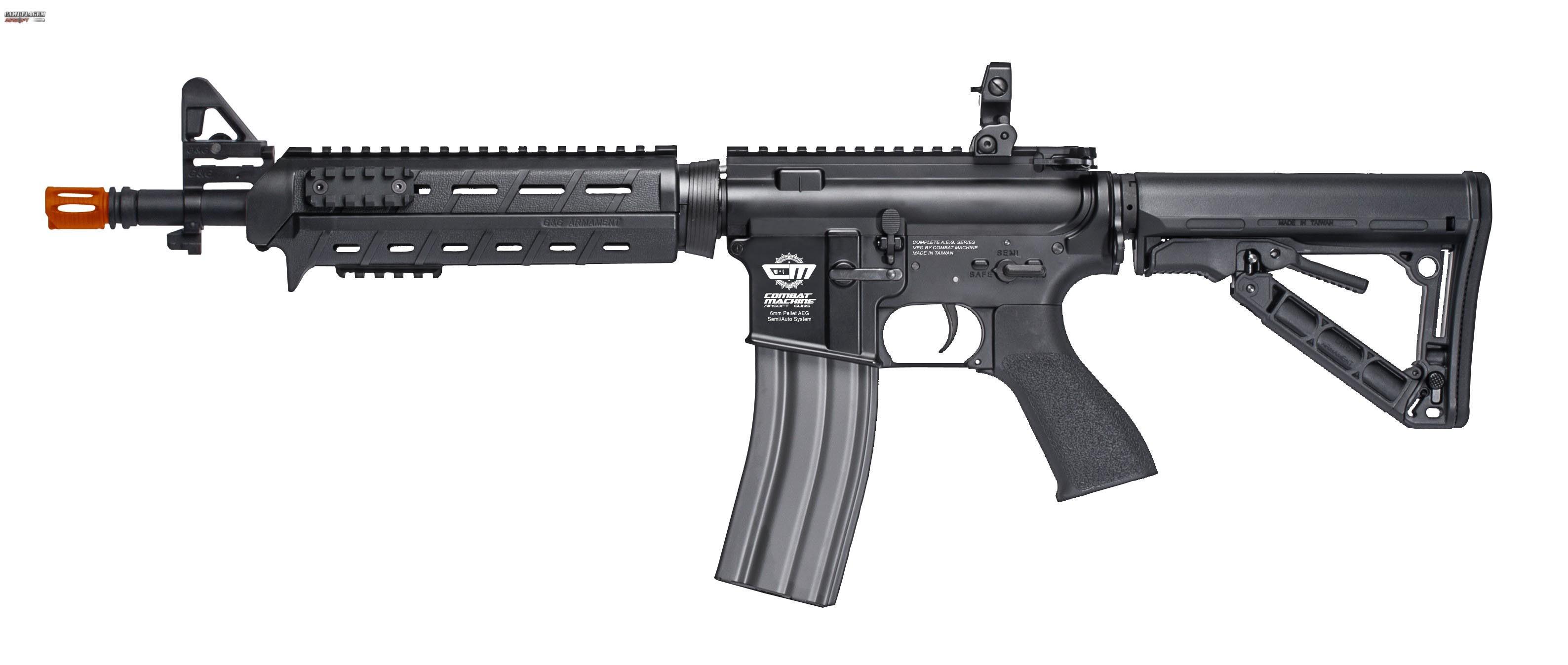 Rifle de Airsoft Eletrico M4A1 CM16 MOD.0 G&G 6mm