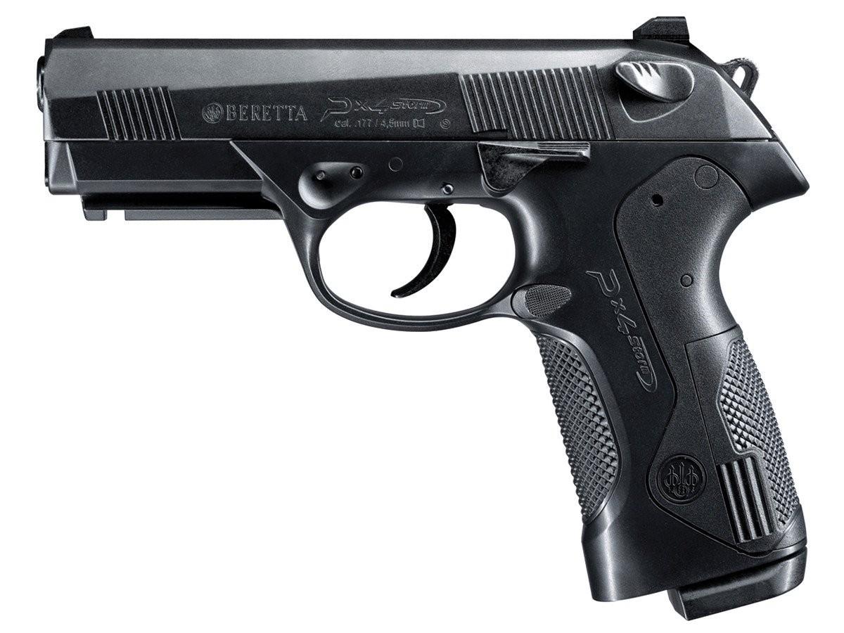 Pistola de CO2 PX4 Beretta Esfera Aco e Chumbinho  4,5 MM Blowback Umarex