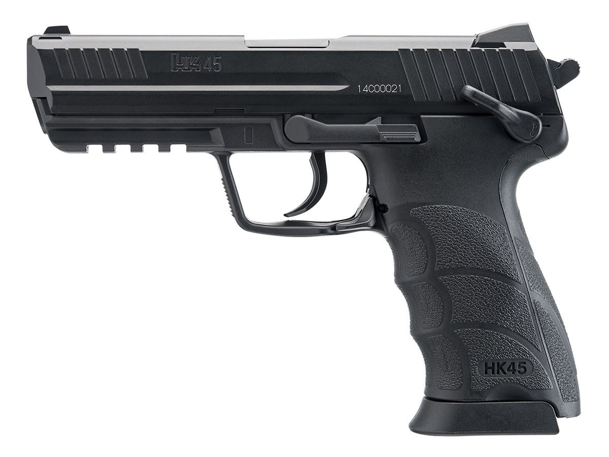 Pistola de CO2 HK45 Esfera de Aço 4,5 MM Umarex