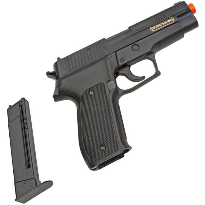 Pistola de Airsoft Spring P226 KWC 6mm