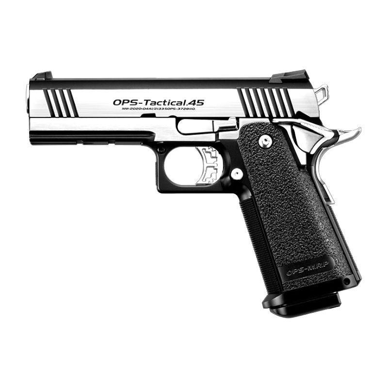 Pistola de Airsoft a Gás HI-CAPA Dual Stainless, Ediçao Limitada, GBB, Full Metal, Blowback Tokio Marui