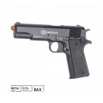 Pistola Airsoft COLT M1911 A1 Spring SLIDE METAL 6MM CYBER GUN
