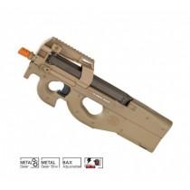 Rifle de Airsoft FN P90 FDE Eletrico 6MM CYBER GUN
