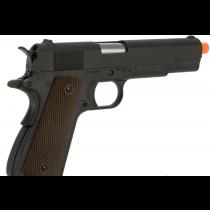 Pistola de Airsoft a Gás 1911 GI, GBB, Full Metal, Blowback WE