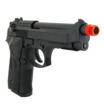 Pistola de Airsoft a Gás M9 Heavy Weight, GBB, Full Metal, Blowback, Preta WE