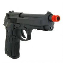 Pistola de Airsoft a Gás M9 Heavy Weight, GBB, Full Metal, Blowback, Preta WE