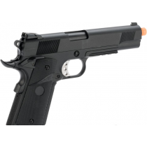 Pistola de Airsoft a Gás 1911 MEU, GBB, Full Metal, Blowback  WE