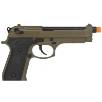 Pistola de Airsoft a Gás M9 Heavy Weight, GBB, Full Metal, Blowback, TAN WE