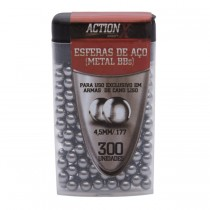 Esferas de Aço 4.5 mm Rossi (300 unidades)
