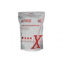 Esfera plástica ActionX branca 0,20g (5000un) 6mm