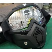 Máscara para Airsoft fumê claro