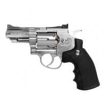 Revolver de Pressão CO2 WG Rossi 708S 4,5mm 6 Tiros 2pol. - Full Metal