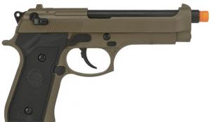 Pistola de Airsoft a Gás M9 Heavy Weight, GBB, Full Metal, Blowback, TAN WE