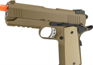 Pistola de Airsoft a Gás Desert Warrior 4.3, GBB, Full Metal, Blowback Tokio Marui